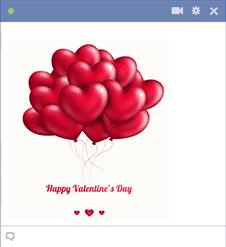 Happy Valentine's Day Balloons