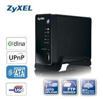 Zyxel NSA-310 1BAY MEDIA SERVER bei iBood für 45,90 Euro inklusive Versandkosten