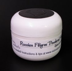 Russian Filigree Powdered Solder