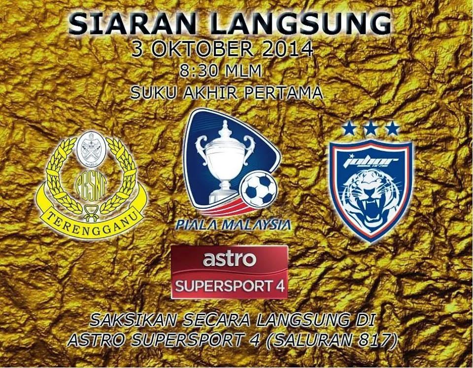 LIVE Terengganu vs JDT