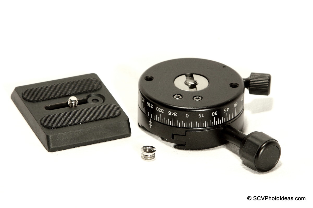 Benro PC-1 w/ Benro QR plate