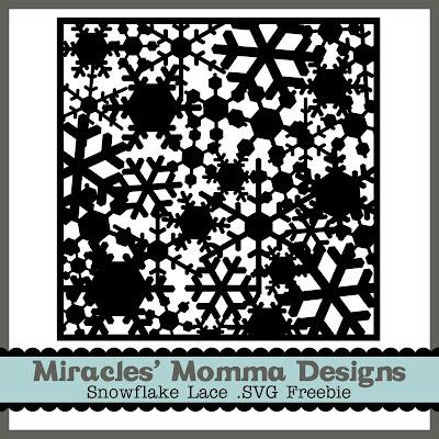 Lace Paper_Free SVG_Die Cut_Snowflake