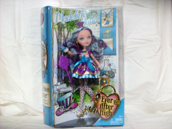 Ever After High Toy Box : Ever after high quot madeline hatter by mattel a guest