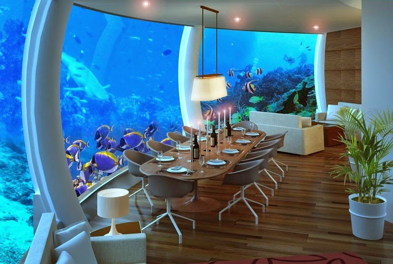 The Poseidon Underwater Resort in Fiji : Most Amazing Underwater Resort in Fiji