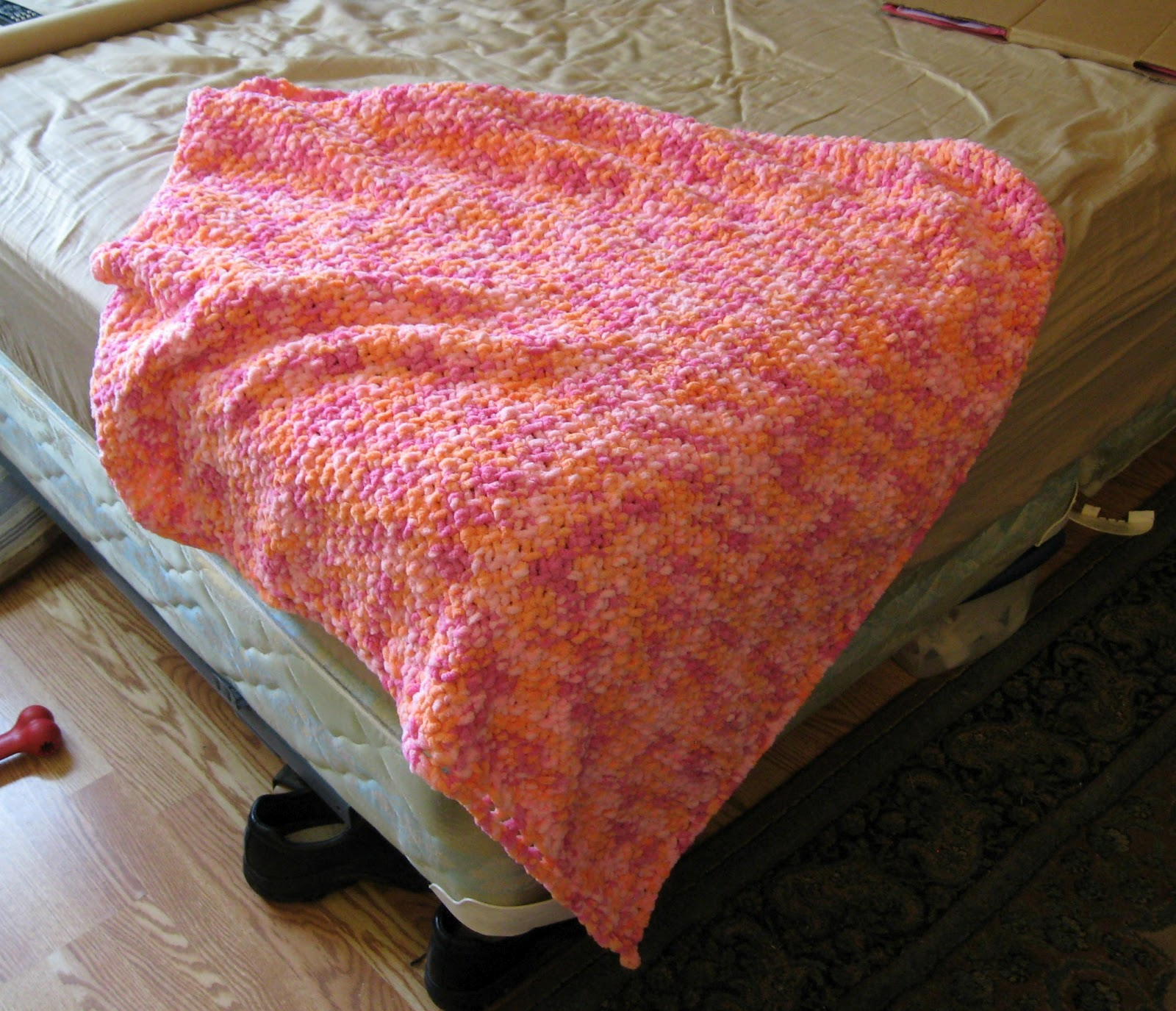how to make baby blanket with name all over