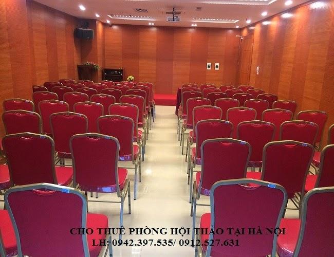 Cho thuê Phòng hội thảo 50 chỗ - 80 chỗ tại Hà Nội