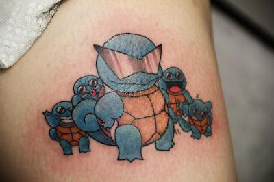 Tatuaje Squirtle Squad