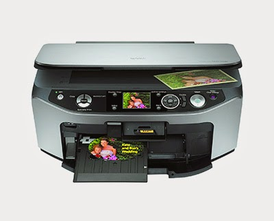 epson stylus photo rx580 printer error