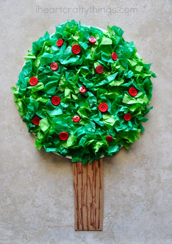 Apple Tree Kids Craft I Heart Crafty Things