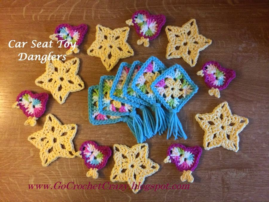 Crochet Motifs by Go Crochet Crazy with Free Crochet Bird Pattern