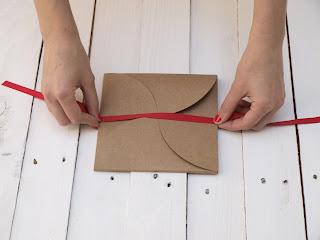 Invitación de moda color kraft craft handmade diy SelfPackaging Self Packaging selfpacking