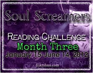 Soul Screamers Reading Challenge