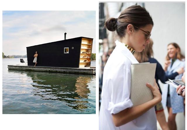 personal style post blog blogger leandra medine in a crisp white blouse