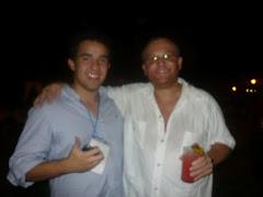 Con Pablo Galain Palermo
