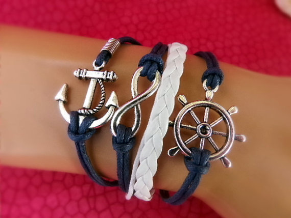 Navy Anchor Charm5