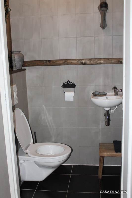 Casa di narda het kleinste kamertje - Stijl van toilet ...