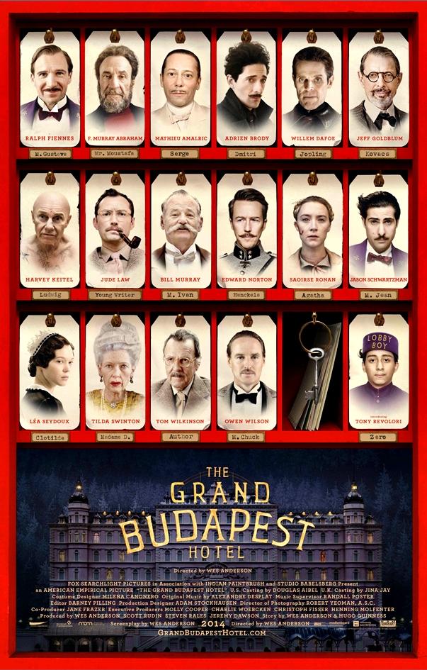 Póster/Cartel de El gran hotel Budapest
