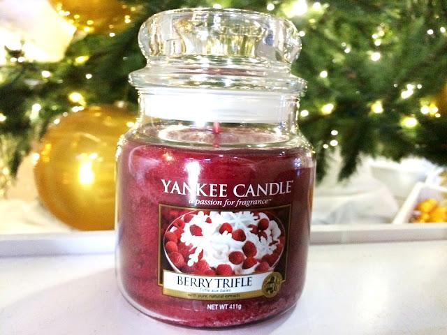avis Berry Triffle Yankee candle