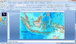 Membuat Animasi Powerpoint Zoom Peta