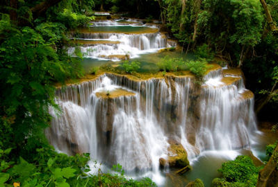 Cascadas Huay Mae Khamin Waterfall&#8206; en Tailandia