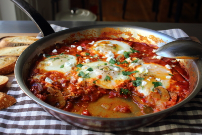 Food wishes video recipes shakshuka say it with me now just be sure to cook your sauce until the veggies are nice and soft and sweet i dont think you want crunchy onions and peppers in this so take a little forumfinder Image collections