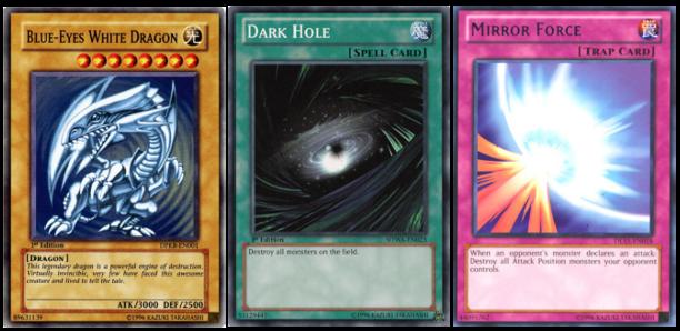 macam macam kartu dasar monster spell trap dalam yugioh