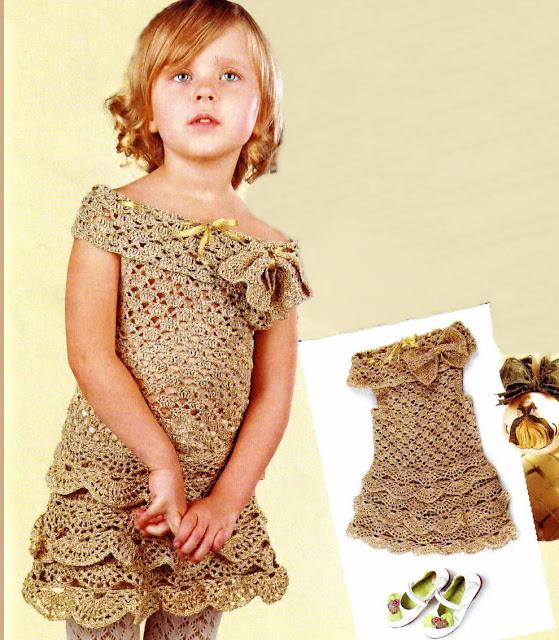 Вязание крючком для лета девочкам 3-4 лет