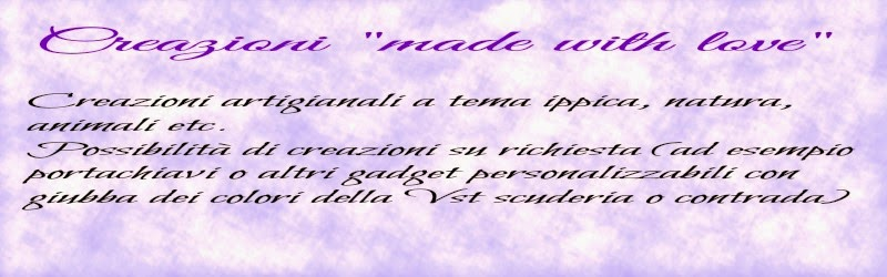 "Creazioni ""made with love"""