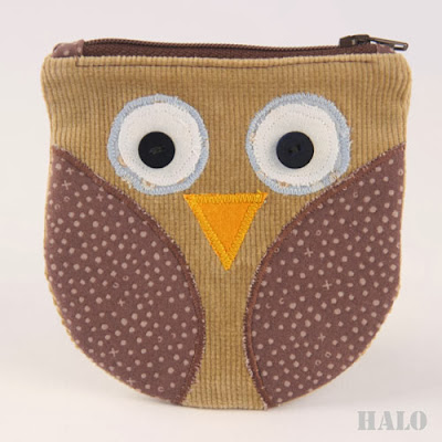 sew owl pouch