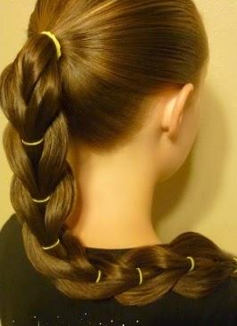 Peinados niña faciles - trenza