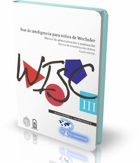 WISC-III – Escala de Inteligencia para Niños de Weschler versión Chilena-test-Weschler