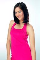 Model Melayu Boleh Cun Baju Pink