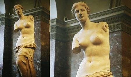 Patung Dewi Venus de Milo
