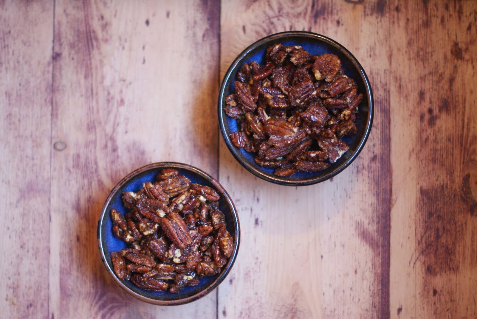 pecans in pretty bowl