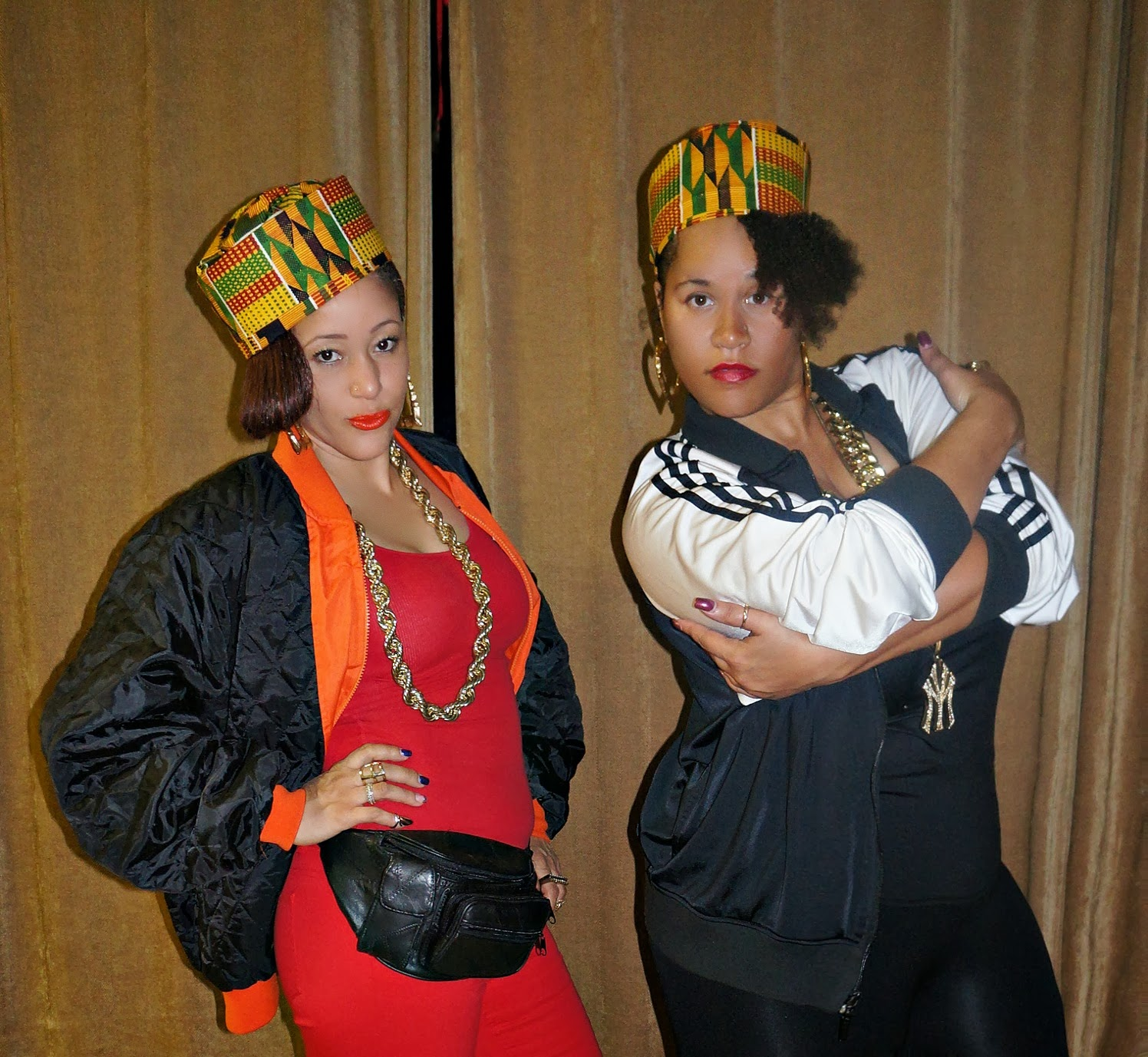 SALT & PEPA Here & We're In Effect! Halloween 2013 | Dress to the T