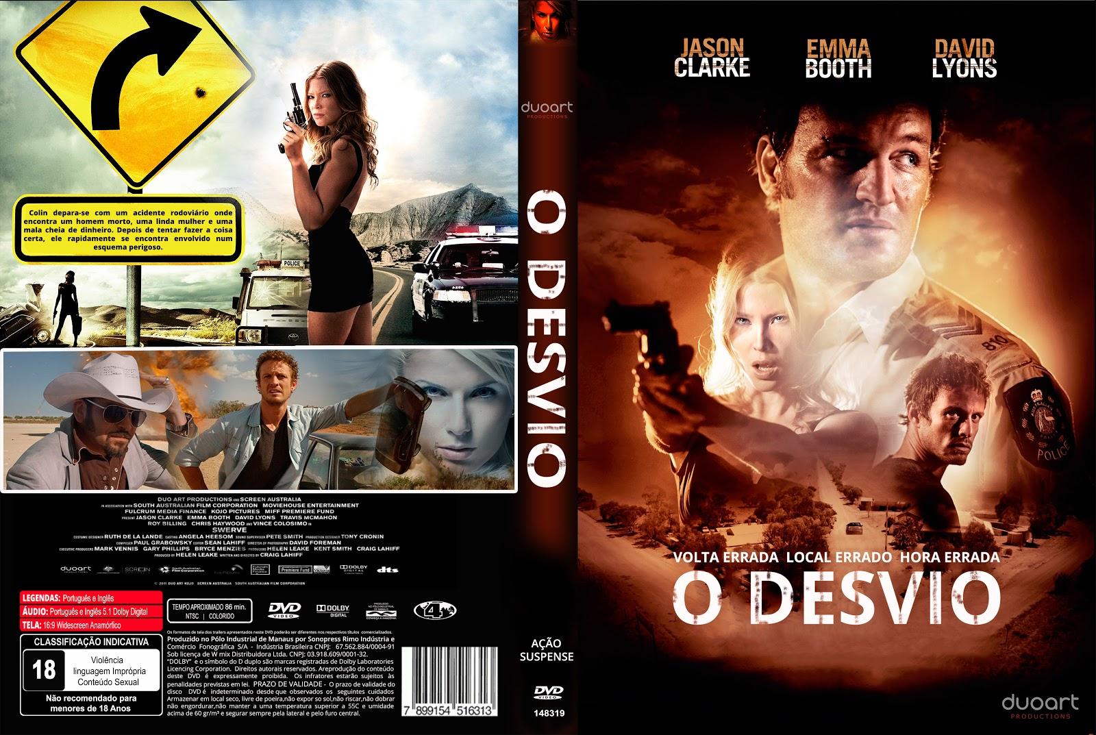 Capa DVD O Desvio