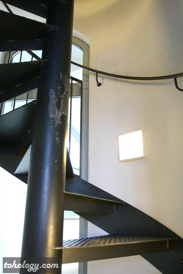 Frauenkirche Dresden spiral staircaseto observation deck // Фрауэнкирхе в Дрездене лестница на смотровую площадку