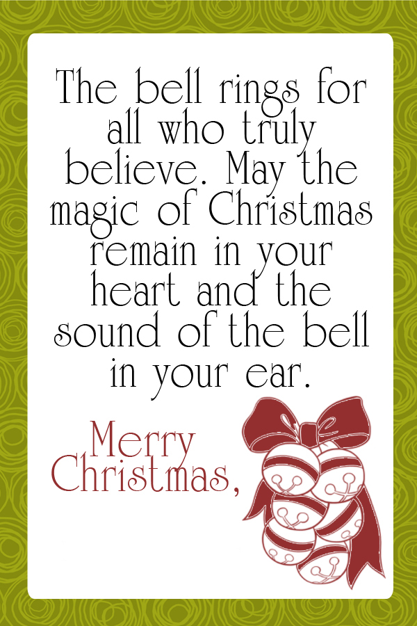 """... Works For Bobbi!: Free Friday! Cute """"Sleigh Bell"""" Neighbor Gift Tags"""