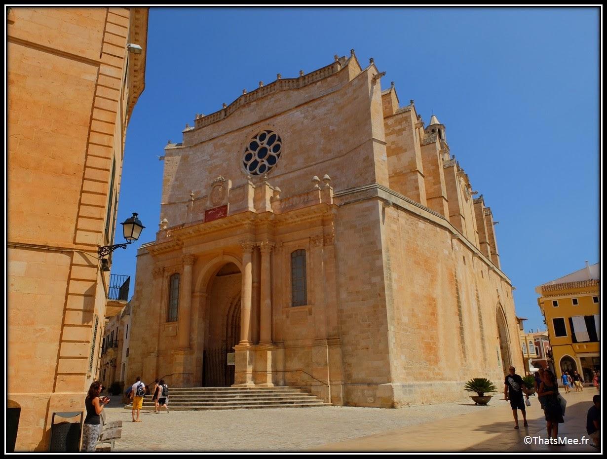 cathédrale Ciutadella de Menorca Minorque