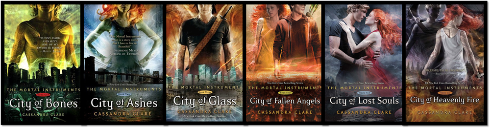 The Mortal Instruments Buchreihe Cover Original - Let's Talk About