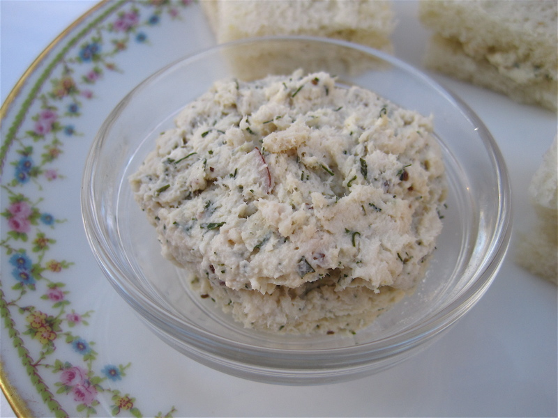 Tea With Friends: Tea Sandwich Saturday #46 - Chicken Salad with Dill