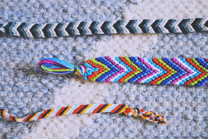 Chevron Friendship Bracelet Tutorial Kollabora Craft Party