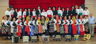 Os novos trajes do Grupo Folclórico Almeida Garrett