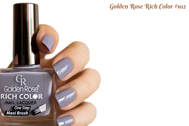 Golden Rose Rich Color 102 swatch