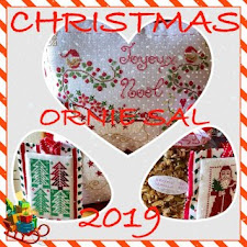 Christmas Ornie SAL~2019