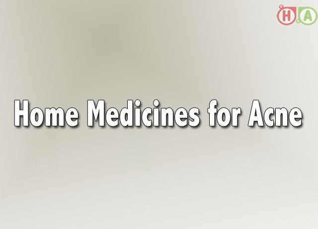 Home Medicines for Acne