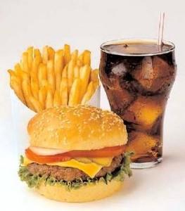 Fast-food engorda?