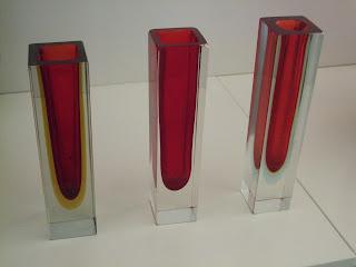 Murano block Vase