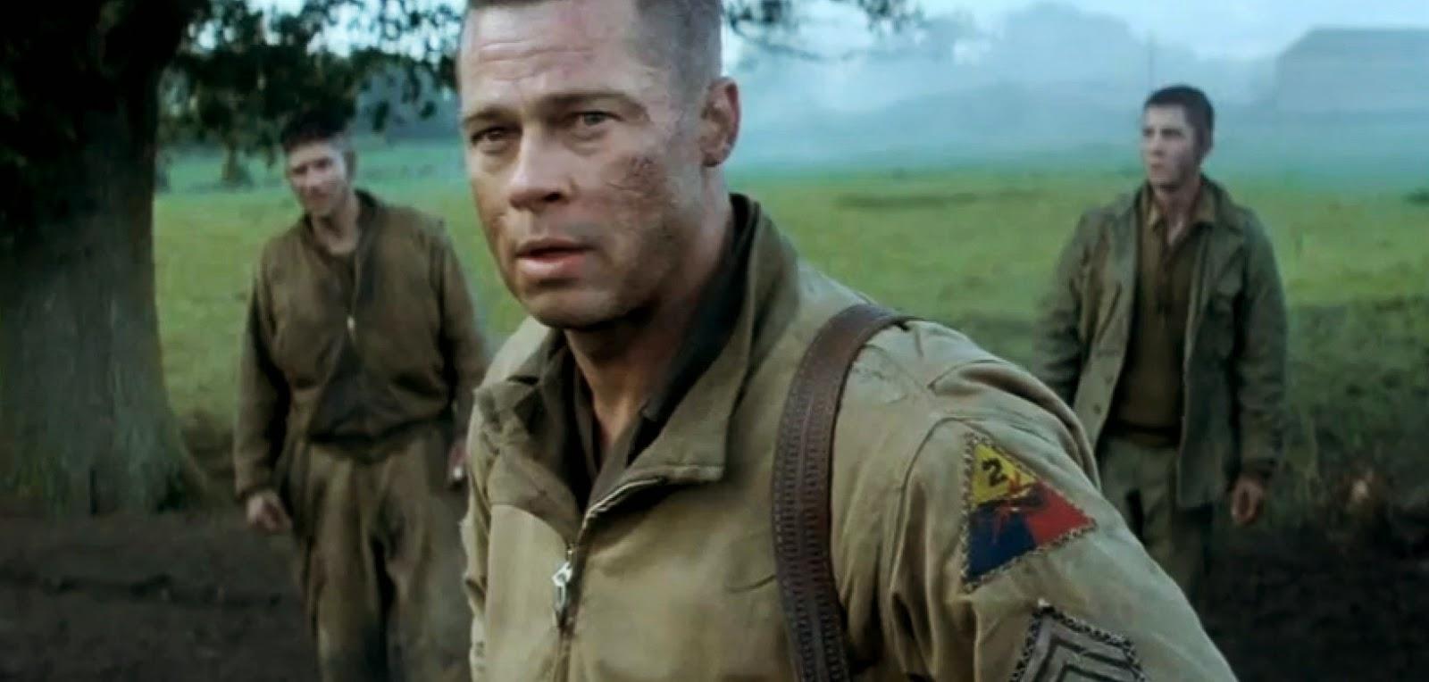 Mais ação no segundo trailer legendado de Corações de Ferro, com Brad Pitt, Logan Lerman e Shia LaBeouf