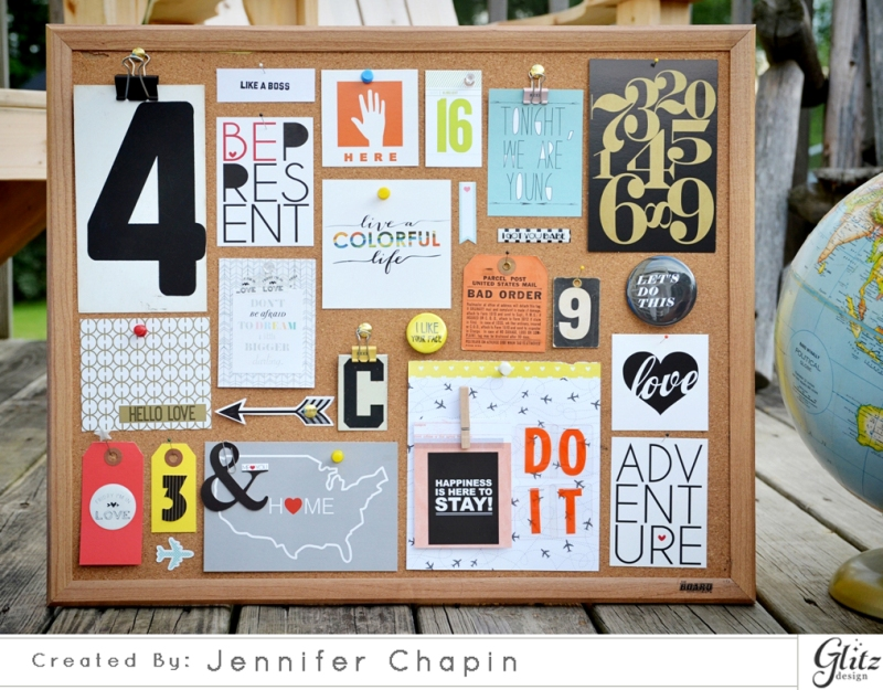 Jen Chapin | Blog: Make Your own Mood Board with Glitz Design